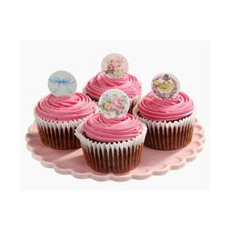 Cupcake toppers - Frills & Frosting: Pack of 17 - Afternoon