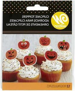 Wilton Cupcake Toppers 12 Pkg Pumpkins