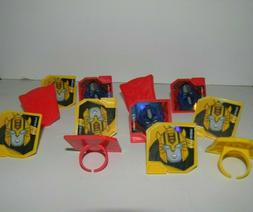 cupcake toppers transformers package of 12