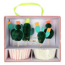 Meri Meri Cute Cactus Cupcake Kit
