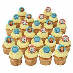 Daniel Tiger Officially Licensed 24 Cupcake Topper Rings by