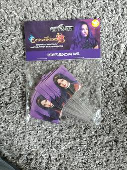 Descendants 3 Cupcake Toppers 24pc