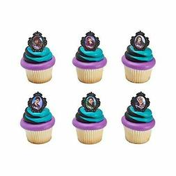 Descendants Rebel Attitude Cupcake Rings - 24 pc