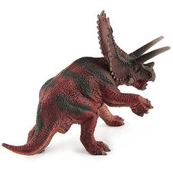 "CEKtoys Dinosaur Figures Pentaceratops 7"" Realistic Detailed"