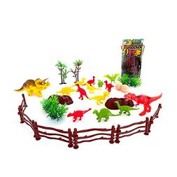 Dinosaur Toys for 3 Year Olds Boys and Girls, Mini Dinosaurs