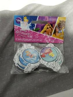 Dinsey Princess Picks Cupcake Toppers 24 Count aerial belle