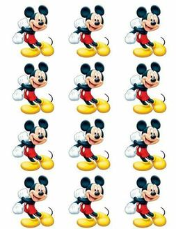 Disney Cake Toppers Mickey Mouse Cupcake Toppers Edible Imag
