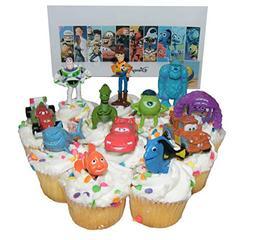 Disney Pixar Figure Cake Toppers / Cupcake Party Favor Decor