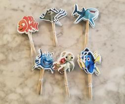 Disney Finding Nemo Cupcake Toppers Kids Birthday Party Supp