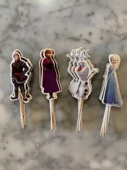 Disney Frozen 2 Elsa Anna Olaf Cupcake Toppers Picks Birthda