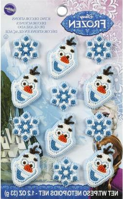 Disney Frozen Icing Decorations 12 ct from Wilton 4500 NEW