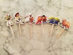 Disney Pixar Toy Story Cupcake Toppers Picks Kids Birthday P