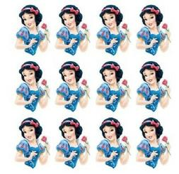 Disney's Snow White Cupcake Toppers Edible Image