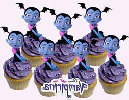 Disney VAMPIRINA Cupcake Topper