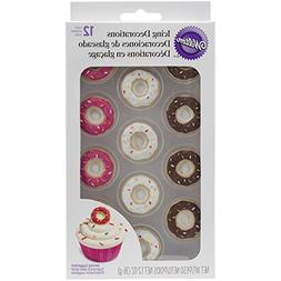 Wilton 710-6009 12 Count Donut Icing Decorations, Assorted