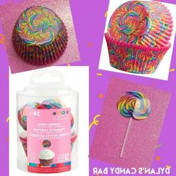 Dylan's Candy Bar Lollipop Swirl Cupcake Liners & Fun Pix To