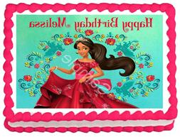 elena of avalor edible cake topper party