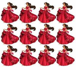 Elena of Avalor Princess Elena Cupcake Toppers Edible Image