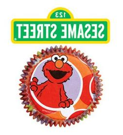 Elmo Baking Cup 50ct  Per Amazon Combined Package Sales Unit