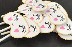Emoji Cupcake Toppers, Camping Birthday Decor, Spa Party Sup