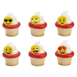 emoticon emoji cupcake rings