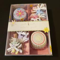 Meri Meri Fairy Wishes Cupcake Cases and Assorted Toppers