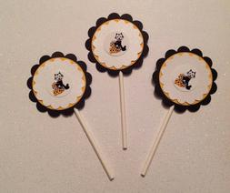 Felix the Cat Cupcake Toppers Birthday Anniversary Party Sup