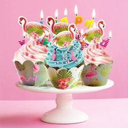 Flamingo Pineapple Cupcake Toppers And Wrappers birthday Par