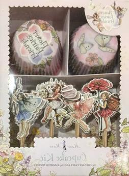 Meri Meri Flower Fairies Friends Cupcake Kit 24 Cases 24 Top