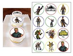 Fortnite ~ Edible ~ Cupcake Topper ~ Edible Cupcake Image ~
