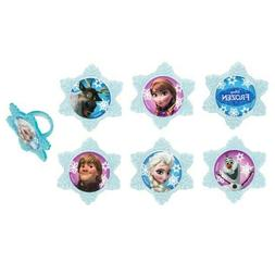 Frozen Adventure FriendsCupcake Rings, all occasion and birt