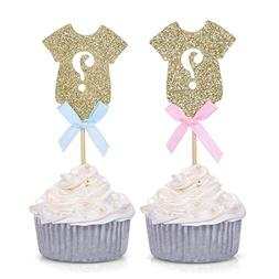 gender reveal party decors gold