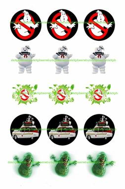 """GHOSTBUSTERS 2"""" CUPCAKE TOPPERS $3.45-$6.50*****FREE SHIPPIN"""