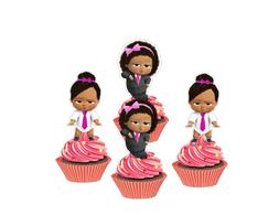 girl boss baby cupcake toppers baby girl