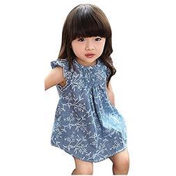 Girls Tops,Haoricu 2017 Hot Sale Summer Cute Baby Toddler Gi