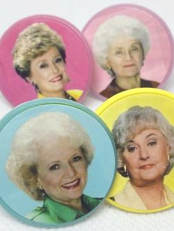 Golden Girls Cupcake Toppers Party Favors Rings Cake Toppers