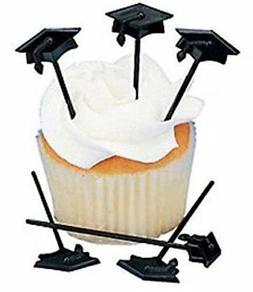 graduation cupcake appetizer picks
