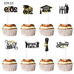 Graduation Cupcake Toppers 2019 Party De