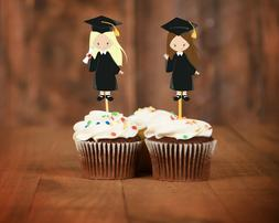 Graduation cupcake toppers decorations class of 2019
