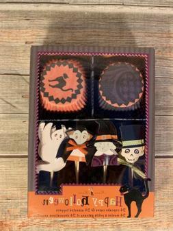 Meri Meri Halloween 24 Cupcake Liners & Toppers Bake Me A Ca