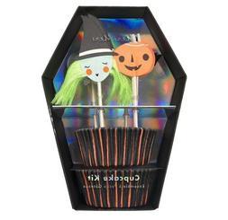 halloween cupcake kit inc 24 baking liners