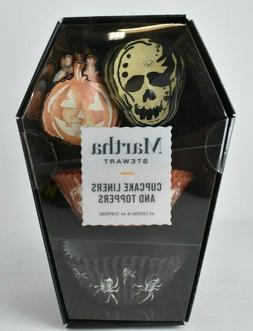 MARTHA STEWART Halloween Cupcake Liners & Toppers