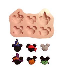 Halloween II Mickey Mouse Disney Silicone Mold Food Safe Cak