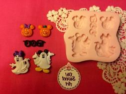 Halloween Mickey Mouse Disney Silicone Mold Food Safe Cake t