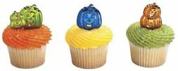 Halloween Decoration Cake Cupcake Toppers Party Kit Pumkin S