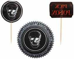 Wilton 415-1422 Halloween Pick your Poison Combo Pack, 24 Co