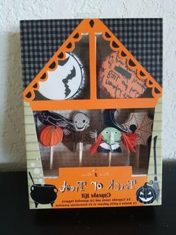 halloween trick or treat 24 cupcake decor