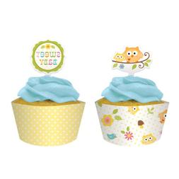 Happi Tree Cupcake Wrappers with Picks 144 Ct