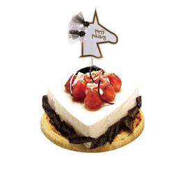 Happy Birthday Unicorn Cupcake Toppers w/ Tutu Decor for Kid