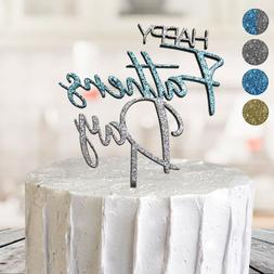 Happy Fathers Day Dad Cake Topper Glitter Special Occasion P